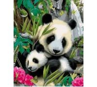 Картина по номерам Малыш панда