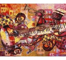 Картина по номерам Измерение джаза