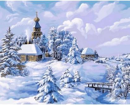 Картина по номерам Середина зимы