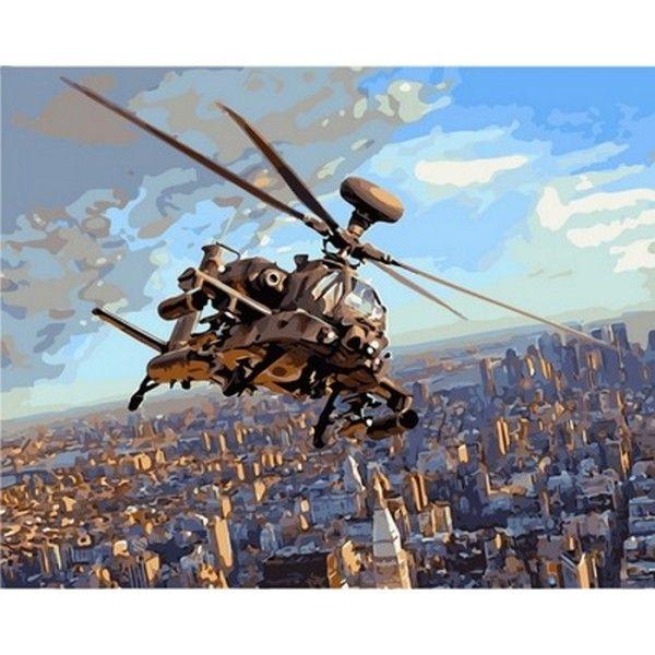 Картина по номерам Полет над Нью-Йорком