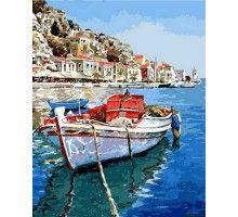 Картина по номерам Лазурные воды Греции