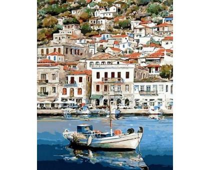 Картина по номерам Греческий пейзаж
