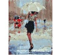 Картина по номерам Симфония дождя
