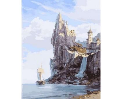 Картина по номерам Скалистые берега