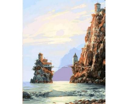 Картина по номерам Мостик на остров