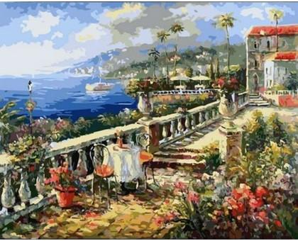 Картина по номерам Итальянское лето