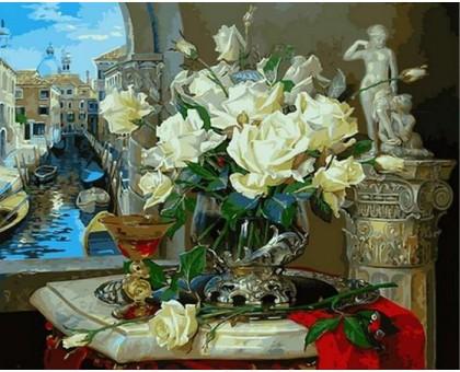 Картина по номерам Венецианские розы