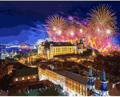Картина по номерам Замок Вавель. Польша