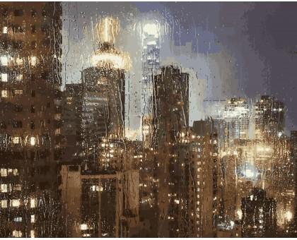 Картина по номерам Ночной дождь
