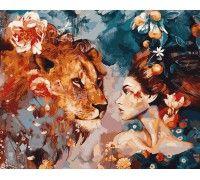 Картина по номерам Ее лев