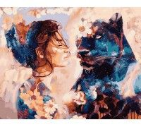 Картина по номерам Звездная пантера
