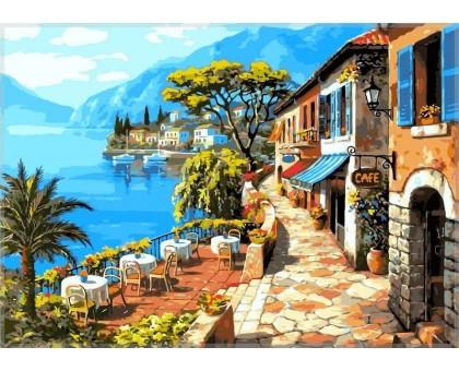 Картина по номерам Кафе у моря