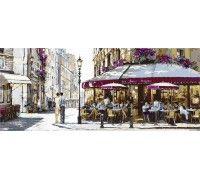 Картина по номерам Триптих. Полдень в Париже