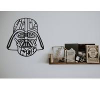 Картина из дерева Darth Vader