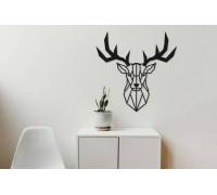 Картина из дерева Deer Head