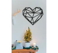 Картина из дерева Heart