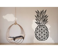 Картина из дерева Pineapple