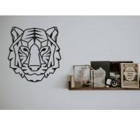Картина из дерева Tiger