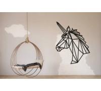 Картина из дерева Unicorn