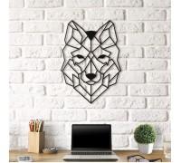 Картина из дерева Wolf