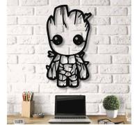 Картина из дерева Groot