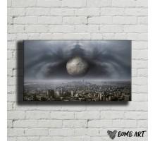 Картина на холсте Мегаполис 09