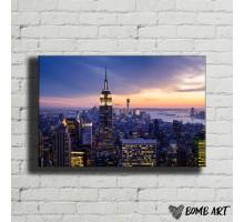 Картина на холсте Мегаполис 15