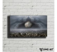 Картина на холсте Мегаполис 16