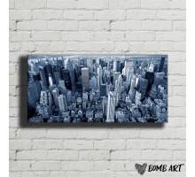 Картина на холсте Мегаполис 18