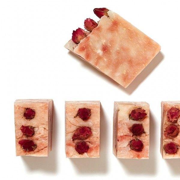 «Розовое» натуральное мыло