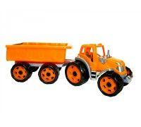Трактор 3442TXK с прицепом