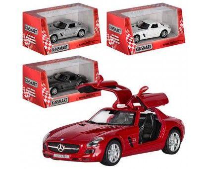 Машинка KT5349W (Mercedes-Benz SLS AMG) металл.