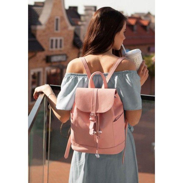 Кожаный рюкзак Олсен барби