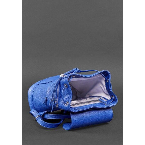 Кожаный рюкзак Олсен индиго