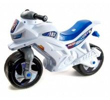 Мотоцикл 2-х колесный 501-1B Синий Белый